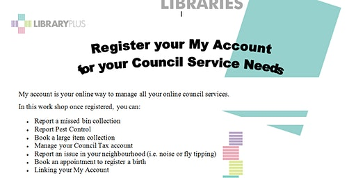Register Your My Account
