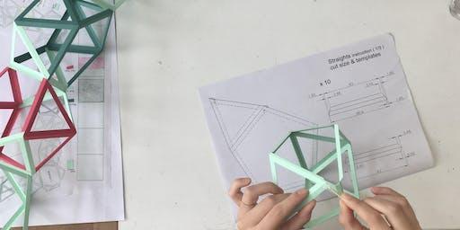 G . F Smith x The Geometrist Colorplan Paper Workshop