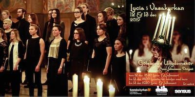 Lucia och julkonsert med Göteborgs Ungdomskör - torsdag