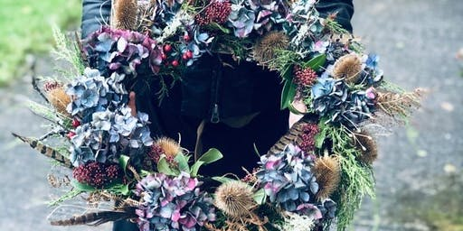 Festive and Foraged Wreath Making Workshop