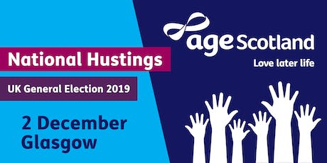 Age Scotland National Hustings tickets
