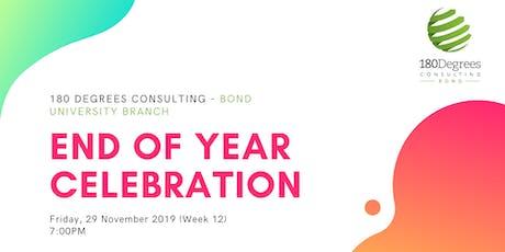 180DC Bond - End of Year Celebration 2019 tickets