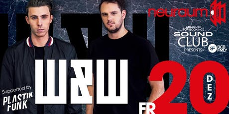 Soundclub pres. W&W @ neuraum Club Tickets