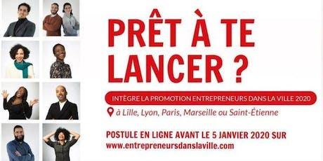 PRÊT A TE LANCER ? Accélère ton projet entrepreneurial ! billets