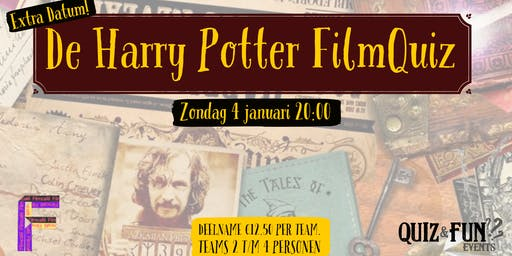 De Harry Potter FilmQuiz | Utrecht