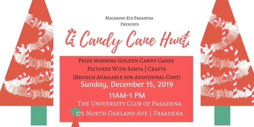 Third Annual Macaroni Kid Pasadena Candy Cane Hunt 2019