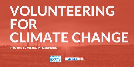 Volunteering for Climate Change tickets