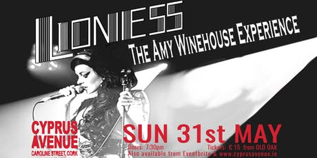 Lioness - The Amy Winehouse Experience tickets