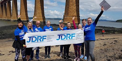 Forth Rail Bridge Abseil for JDRF