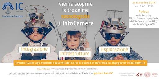 Vieni a scoprire le tre anime tecnologiche di InfoCamere