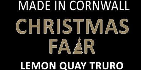 Made in Cornwall Christmas Fair 2019 tickets