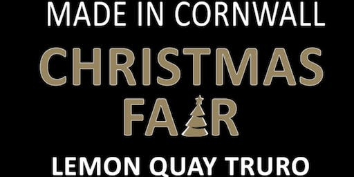 Made in Cornwall Christmas Fair 2019