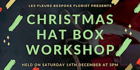Christmas Hat Box Workshop tickets