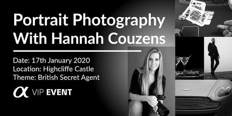 British Secret Agent Photoshoot, with Sony Ambassador Hannah Couzens tickets