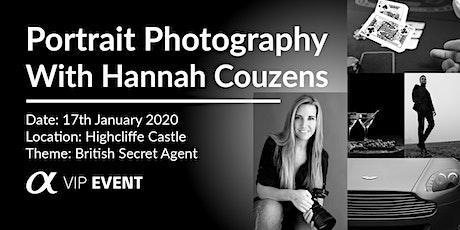 British Secret Agent Photoshoot, with Sony Ambassador Hannah Couzens tickets