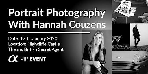 British Secret Agent Photoshoot, with Sony Ambassador Hannah Couzens