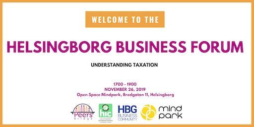 Helsingborg Business Forum # 3 - Taxation