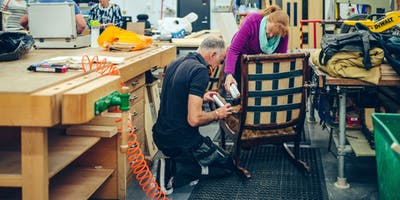 Plymouth College of Art - 10 week Upholstery for Improvers - Wednesday (Jan 2020)