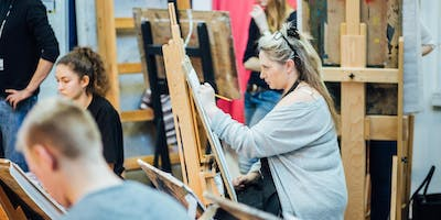 Plymouth College of Art - 10 Week Life Drawing and Painting for Beginners (Jan 2020)