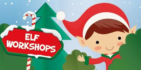 Burnley Christmas Festival - Elf Workshop & Santa Experience