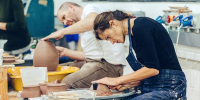 Plymouth College of Art - 10 week Pot Throwing for Beginners - Thursday (Jan 2020)