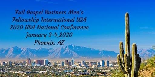 2020 FGBMFI USA National Conference January 3-4, Phoenix, AZ