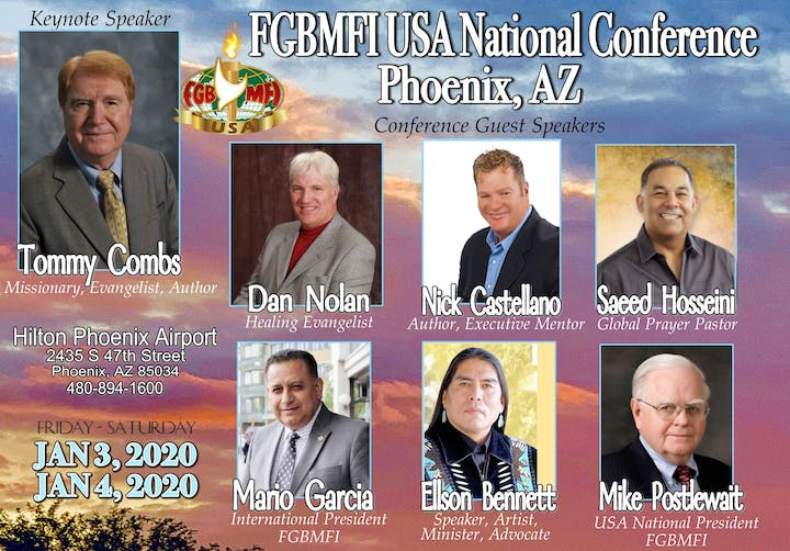 Events Usa January 2020.2020 Fgbmfi Usa National Conference January 3 4 Phoenix Az