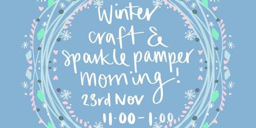 Winter mum & child pamper & craft morning