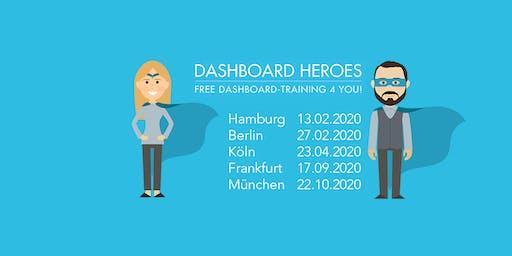 Vergiss Excel- werde in Köln zu einem Dashboard Hero!