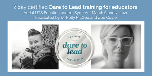 Dare To Lead - certified training for Educators