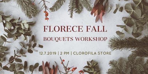 Florece Fall Bouquets Workshop