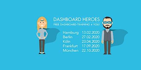 Vergiss Excel- werde in Frankfurt zu einem Dashboard Hero! Tickets