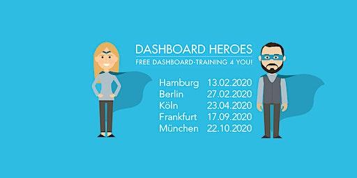 Vergiss Excel- werde in Frankfurt zu einem Dashboard Hero!