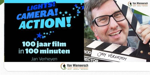 Lights! Camera!  Action!  door Jan Verheyen