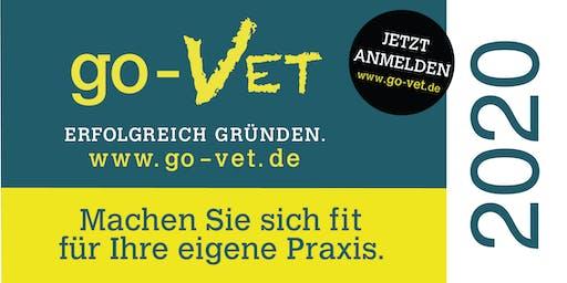 go-VET - Erfolgreich Gründen in *Hannover 2020* Exklusiv für Tierarzt & Tierärzte