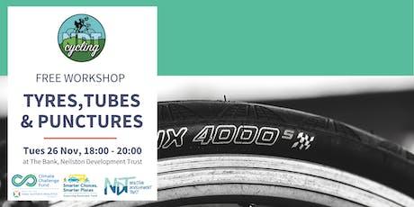FREE Bike Maintenance Workshop - Tyres, Tubes & Punctures (NDT) tickets