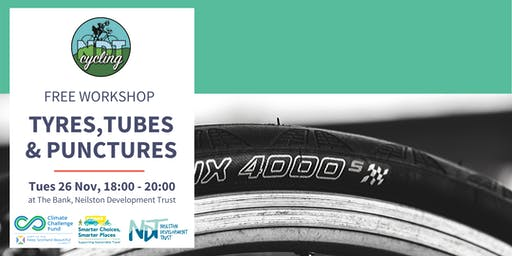 FREE Bike Maintenance Workshop - Tyres, Tubes & Punctures (NDT)