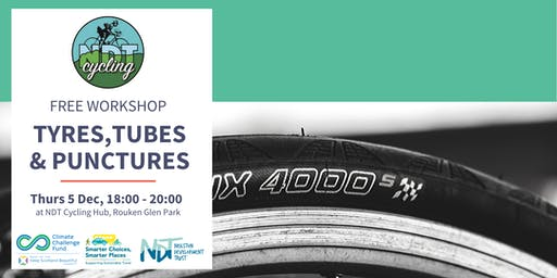 FREE Bike Maintenance Workshop - Tyres, Tubes & Punctures (Rouken Glen)