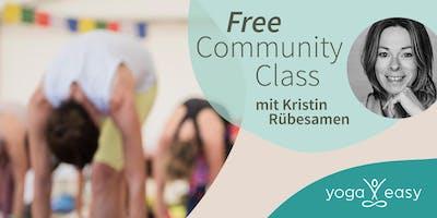 YogaEasy Community Class – mit Kristin Rübesamen