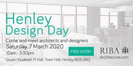 RIBA 8th annual Henley Design Day 2020 tickets