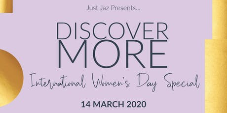 Discover More: International Women's Day Celebration tickets