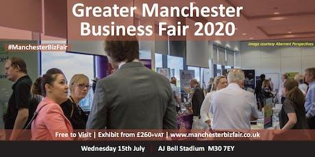 Greater Manchester Business Fair 2020 tickets