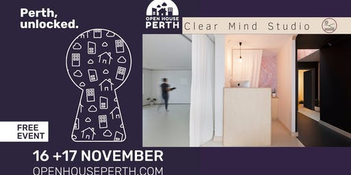 Open House Perth: Clear Mind Studio