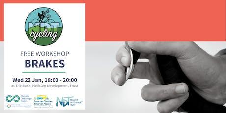 FREE Bike Maintenance Workshop - Brakes (NDT) tickets