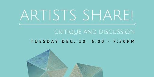 Artists Share!