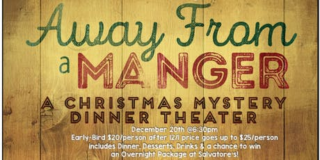 Christmas Mystery Dinner Theater tickets