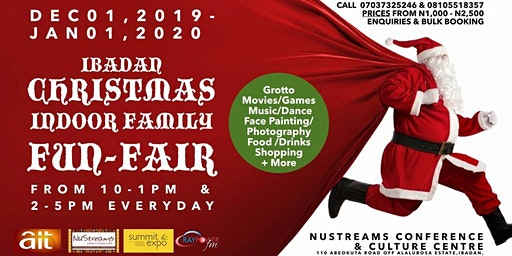 IBADAN CHRISTMAS INDOOR FAMILY FUN-FAIR