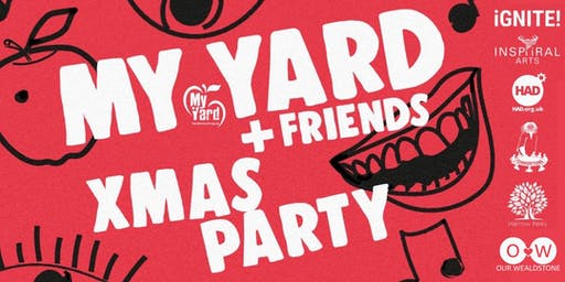 My Yard Christmas Party