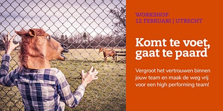 Komt te voet, gaat te paard | 12 februari 2020 tickets
