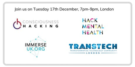 Consciousness, Mental Health & Technology: Pre-holiday Drinks tickets